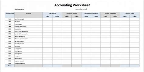Template Accounts For Small Company by Bookkeeping For Small Business Templates 28 Images