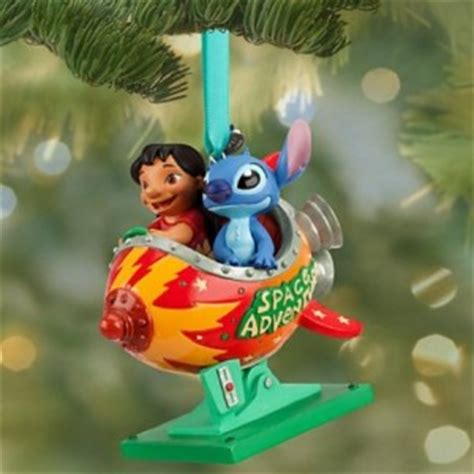 disney lilo and stitch christmas ornament cool stuff to