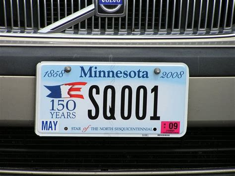 License Plate Lookup Mn New Sesquicentennial License Plates Unveiled Minnesota Radio News