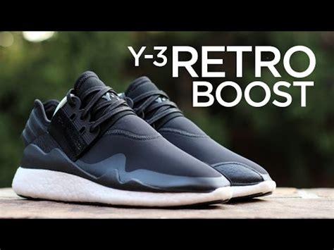 Premium Quality Adidas Y3 Qasa Vista All Black adidas y3 retro boost blue