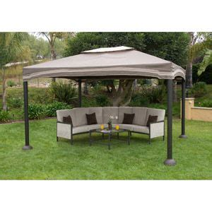 Backyard Creations Steel Roof Gazebo Cabin Style Gazebo Garden House 12 X 10 Gardens