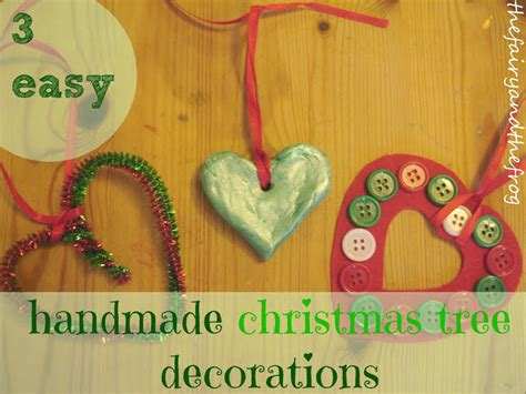 Handmade Decorations Uk - the and the frog how to make 3 easy handmade