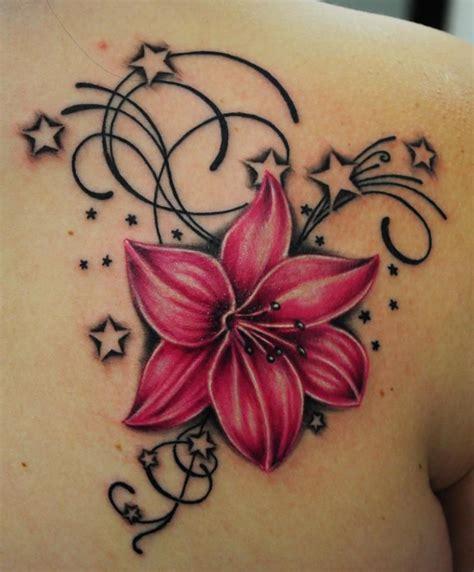 cute star tattoo designs tatts tattoos flower tattoos and