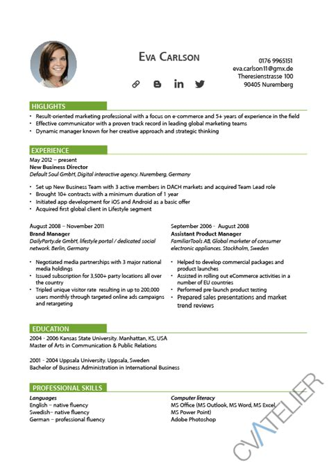 template for curriculum vitae exle 28 images 48 great curriculum vitae templates exles