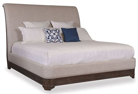 Upholstered Sleigh Bed St Germain King Upholstered Sleigh Bed 215156 1513fb 1513hb 1513rs Furniture