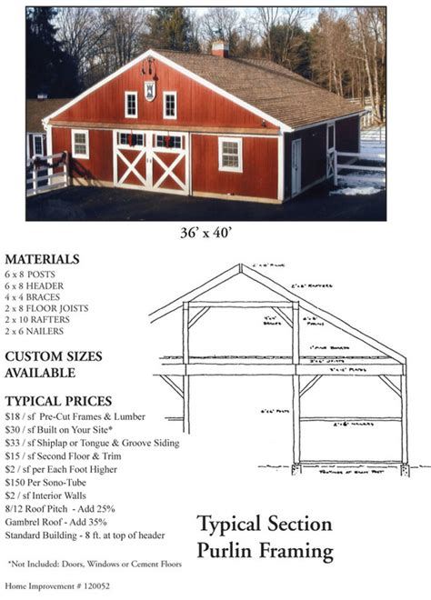 barn building cost estimator estimate your cost lamore lumber post beam buildings
