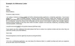 Reference Template by Reference Letter Template 37 Free Sle Exle