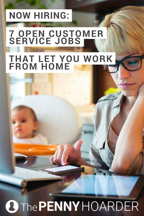these seven work from home customer service