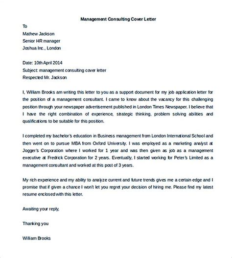 sle cover letter employment consultant cover letter 4you