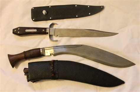 bowie knife vs kukri knife what s your fighting knife