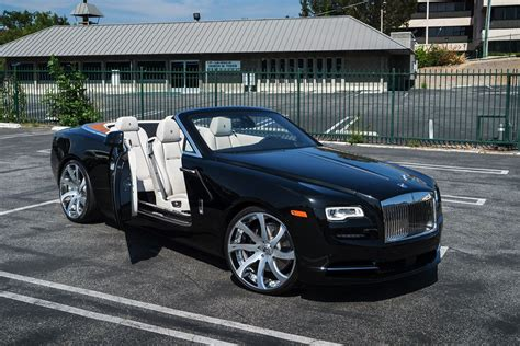 roll royce forgiato spotlight first rolls royce dawn on forgiato wheels