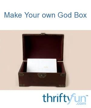 god box thriftyfun