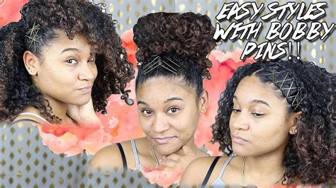 Bobby Pin Hairstyles For Hair by Bobby Pin Hairstyles For Curly Hair