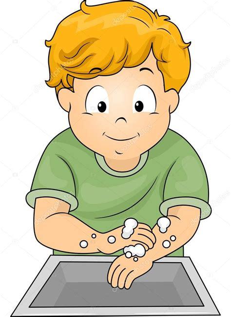 imagenes niños lavandose las manos ni 241 o lav 225 ndose las manos foto de stock 169 lenmdp 46208049
