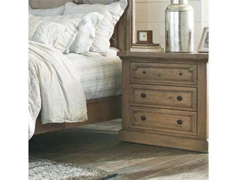 Dresser Drawer Amos by Amos Three Drawer Nightstand With Outlet