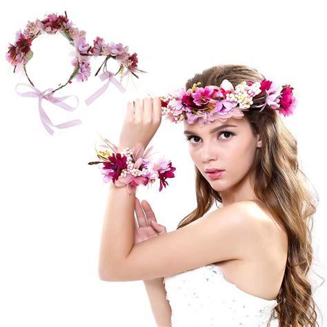 Wedding Hair Accessories Divisoria by Wedding Flower Wreath Bridal Headband Wrist