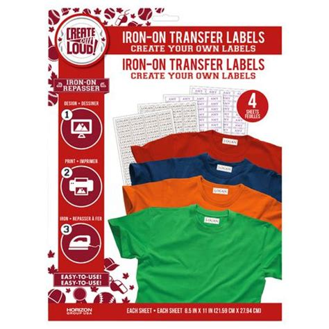 How To Make Your Own Iron On Transfer Paper - create out loud create your own iron on transfer labels