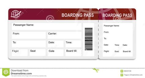 boarding pass template boarding pass template free real boarding pass