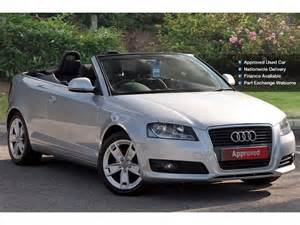 used audi a3 2 0 tdi sport 2dr diesel cabriolet for sale