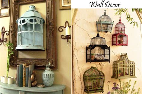 repurposed bird cages in home decor furnish burnish
