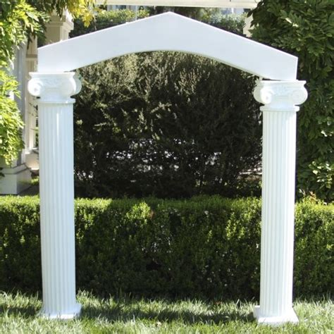 Wedding Arch And Columns by Arch With Columns Arch With Columns Arch