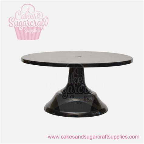 10 Inch Cake Stand - black 10 inches painted metal cake stand cakes