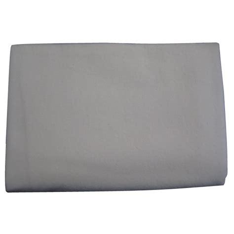 couverture de repassage en molleton blanc ecru