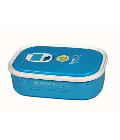 Lunch Set Homio homio blue polypropylene lunch box set of 3 buy at best price in india snapdeal