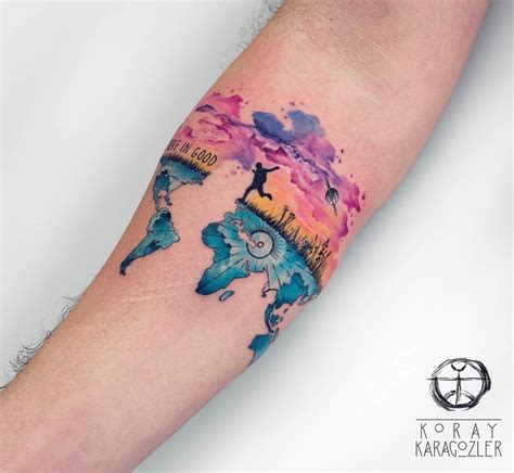 travel tattoo ideas travel a new beginning best design ideas