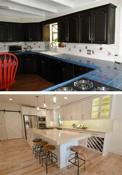 S Kitchen Tarrytown by 20 Kitchen Makeovers Before And After Top Home Designs