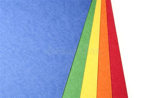 Color Craft Paper - bright color craft paper royalty free stock photography