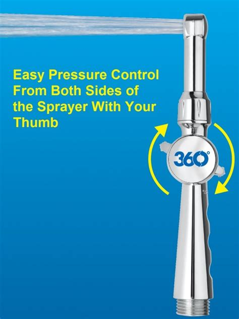 aquaus 360 bidet aquaus 360 held bidet sprayer clear water bidets