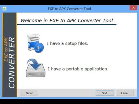 apk exe where exe to apk converter tool