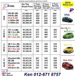 Proton Alza Price Perodua Promotion Call 012 671 8757 New Perodua Alza