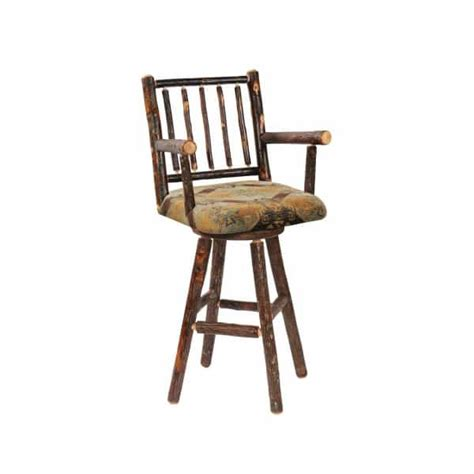 Hickory Counter Stools by Hickory Swivel Counter Stool