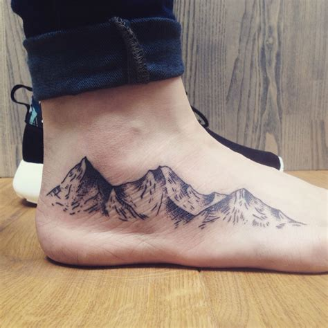 epic mountain tattoo ideas lushzone