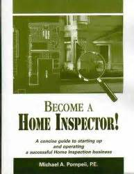 home inspector and business manual