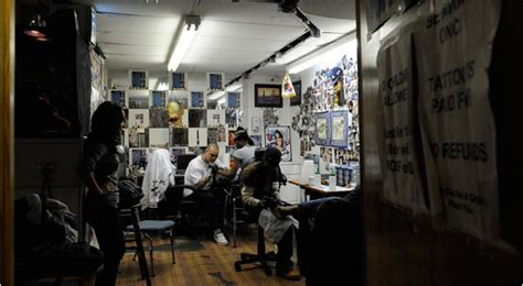 small tattoo shop for claiming abuse a family of