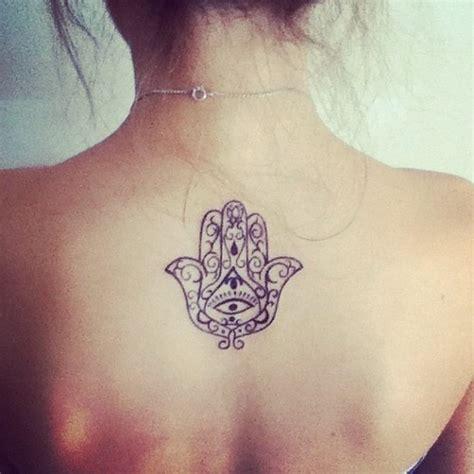 tattoo hand on back mandala hand grey ink tattoo on back tattooshunt com