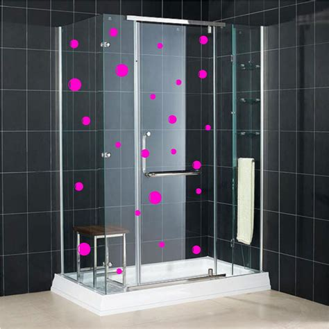 bathroom glass stickers 24 bubble wall stickers saftey glass manifestation tile