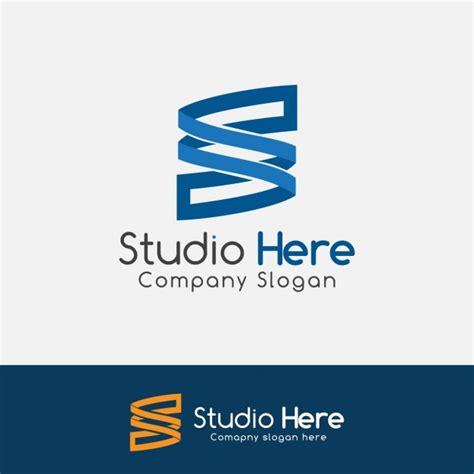 s logo blue blue letter s logo vector free