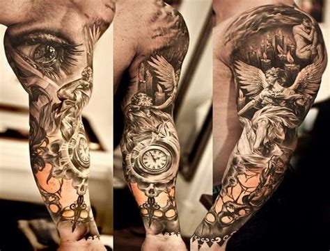 tattoos ideas for black men mens sleeves designs sleeve designs