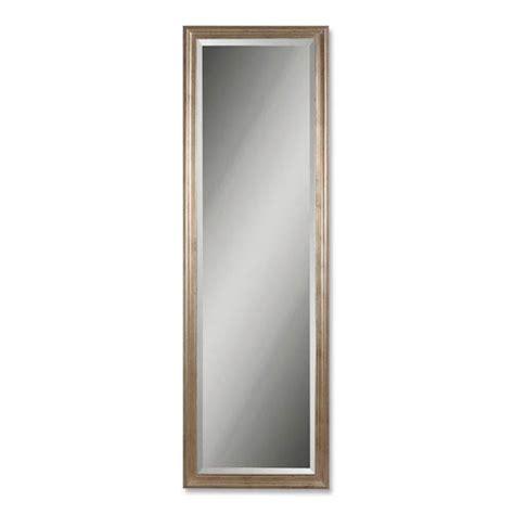 antique silver floor mirror bellacor