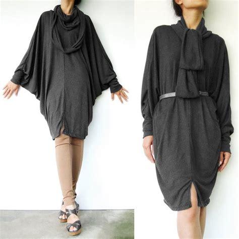 Oversized Tunic Kemeja Boho boho oversized black tunic dress unique clothes casual wear for all seasons
