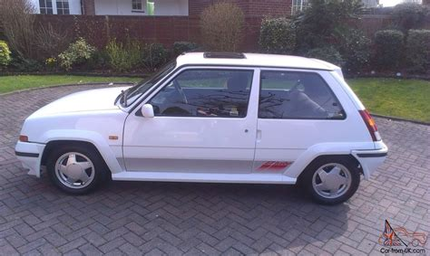 renault turbo for sale renault 5 gt turbo 1990