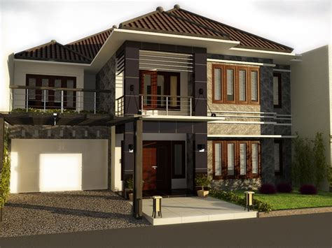 architectural design for town house surabaya by yuni