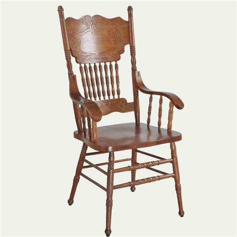 armchair wooden luxury home furniture oak vintage dining