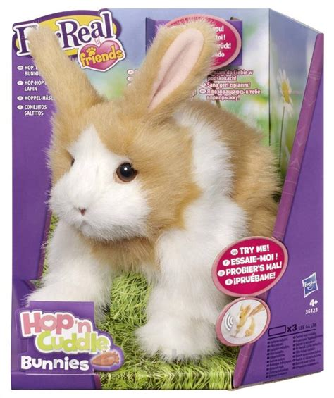 Pp Bunny furreal friends hop n cuddle bunny electronic rabbit