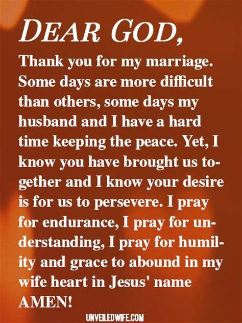 Difficult times in marriage