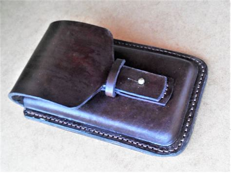 Handmade Leather Phone Cases - handmade leather phone holster samsung galaxy
